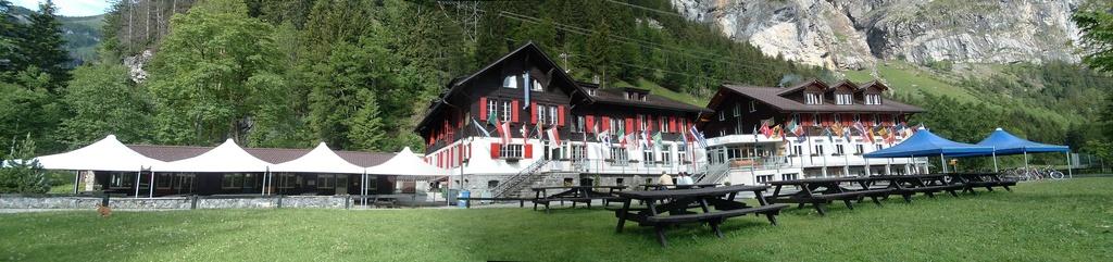 Chalet (Hauptgebäude) und Kander-Lodge,  3718 Kandersteg - 1069