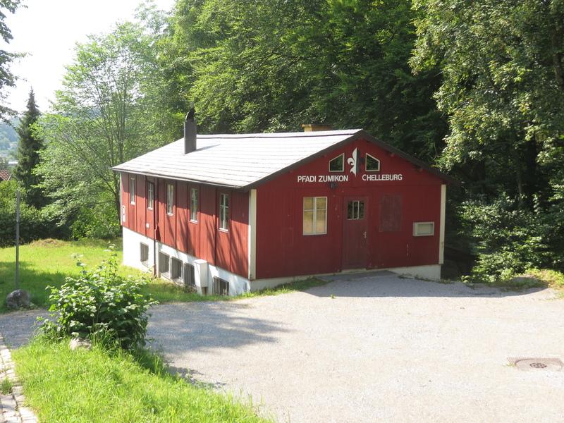 Pfadiheim Chelleburg, 8126 Zumikon - 4141