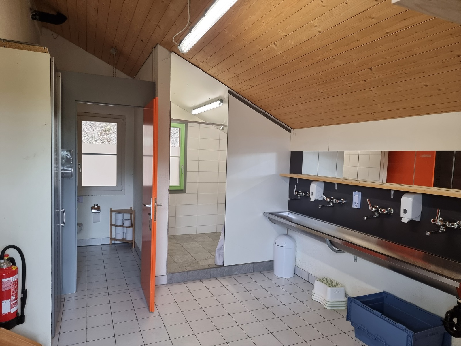 Pfadiheim Waldegg, 3400 Burgdorf - 9507 - WC / Dusche OG