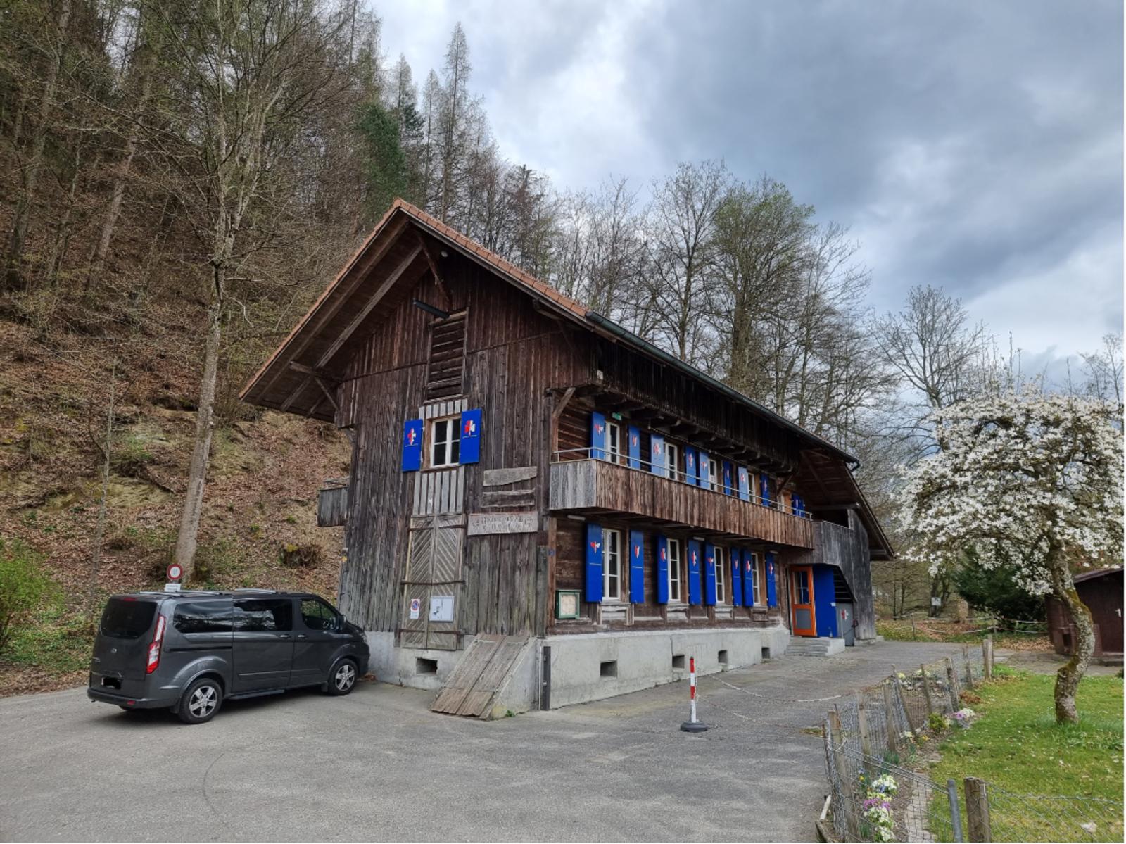 Pfadiheim Waldegg, 3400 Burgdorf - 9512 - Aussenansicht