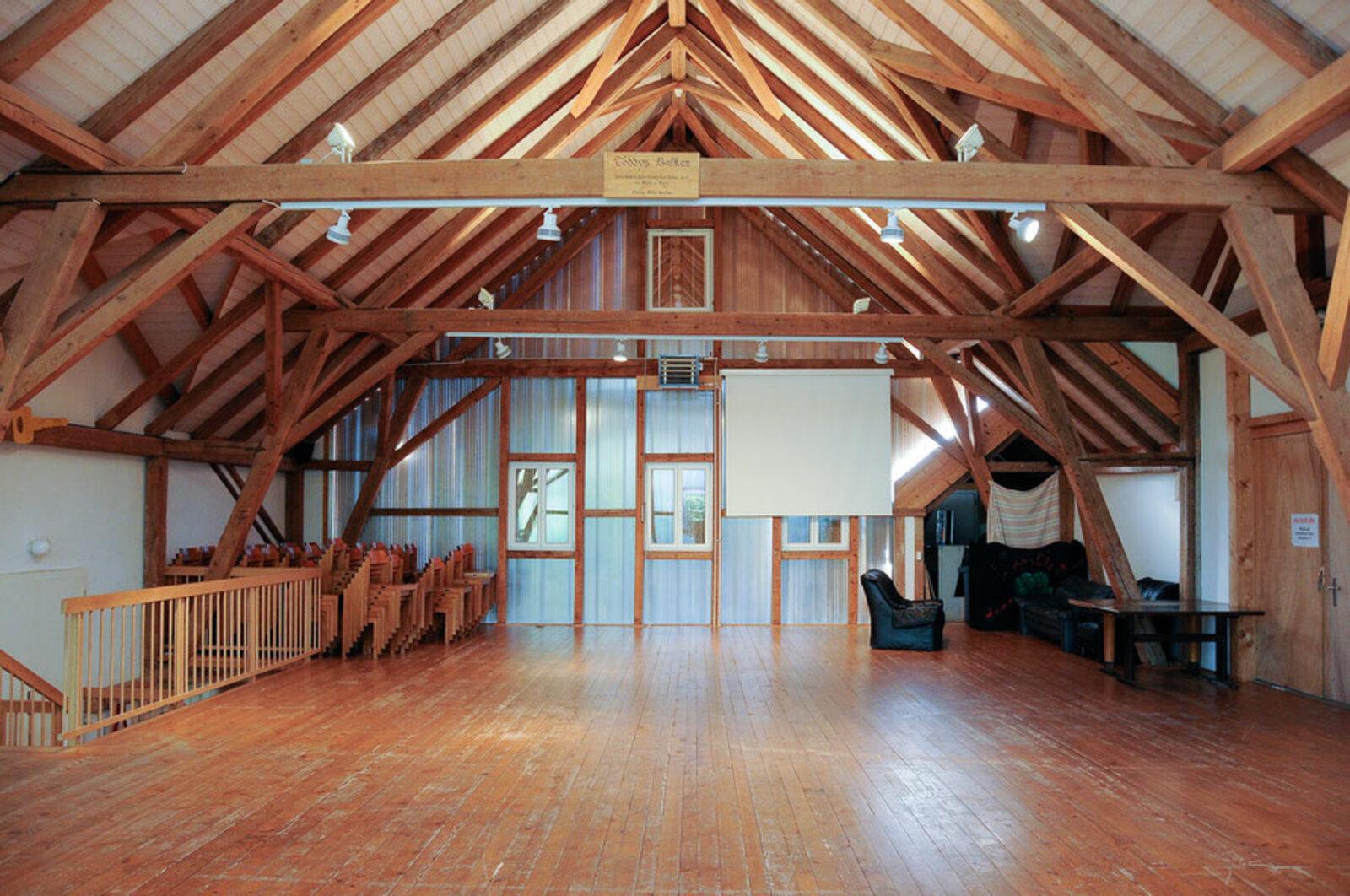 Pfadiheim Buech, 8704 Herrliberg - 9626 - Scheunensaal
