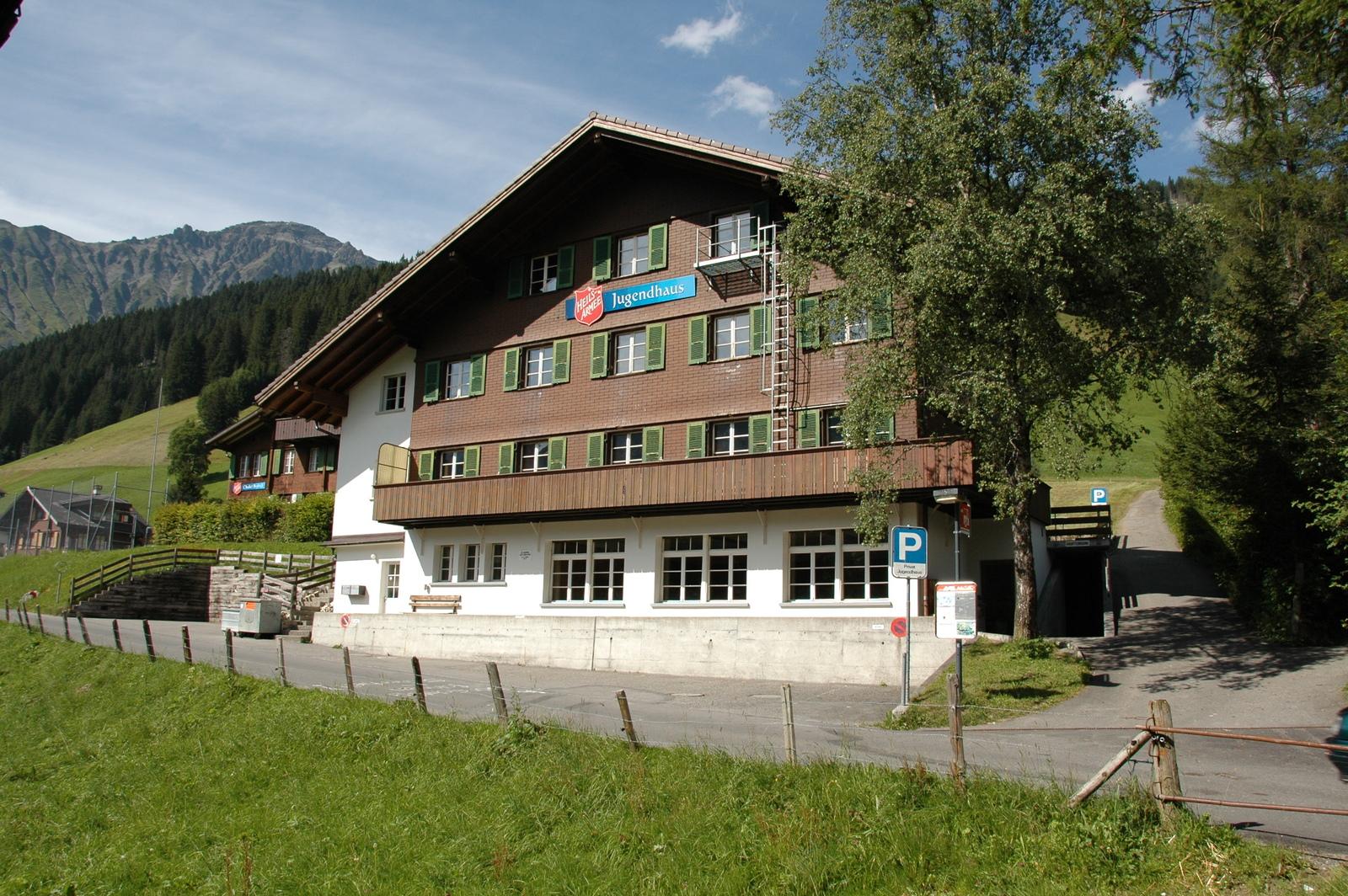 Jugendhaus der Heilsarmee, 3715 Adelboden - 9630 - Frontansicht